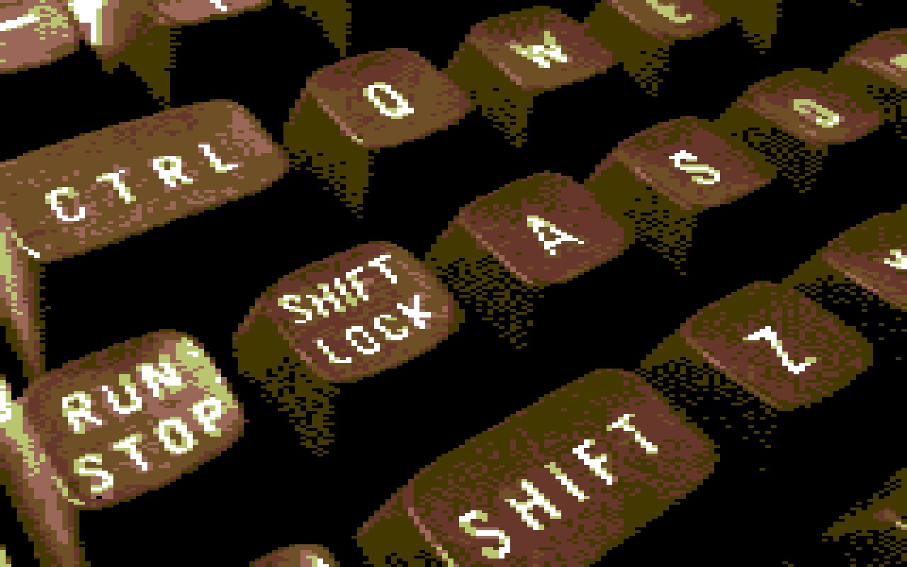 Commodore 64 (Low-res mode)